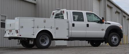 Aluminum Utility and Hauler Bodies - Hughes Equipment | 740